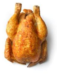 Tender-basted Rotisserie Chickens (Size 14)
